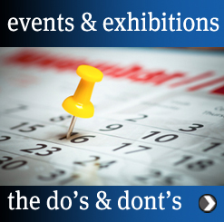 events - do's and dont's
